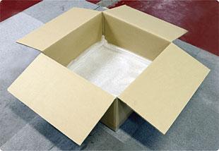 アンプの梱包手順1