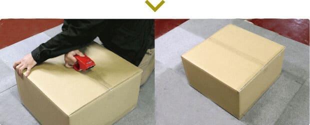 アンプの梱包手順5