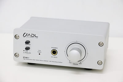 Alpha ADL GT40α(Alpha)GT40A USB DAC ヘッドホンアンプ | 中古買取価格19,000円