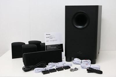 【買取実績】Pioneer パイオニア S-HS100 5.1chスピーカーシステム | 中古買取価格4,500円