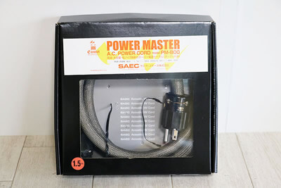 【買取実績】SAEC サエク PM-800(1.5m) 電源ケーブル | 中古買取価格10,000円