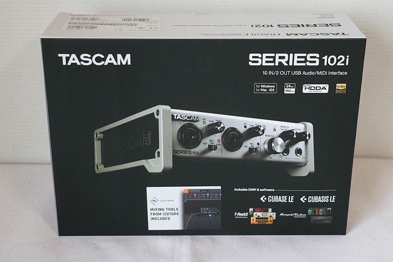 【買取実績】TASCAM SERIES 102i|中古買取価格20,000円