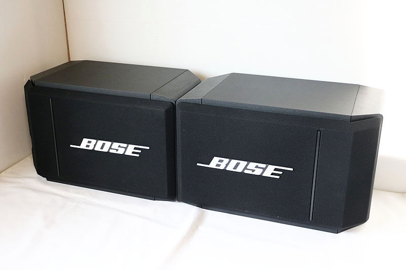 【買取実績】BOSE model 314 ペア|中古買取価格7,000円