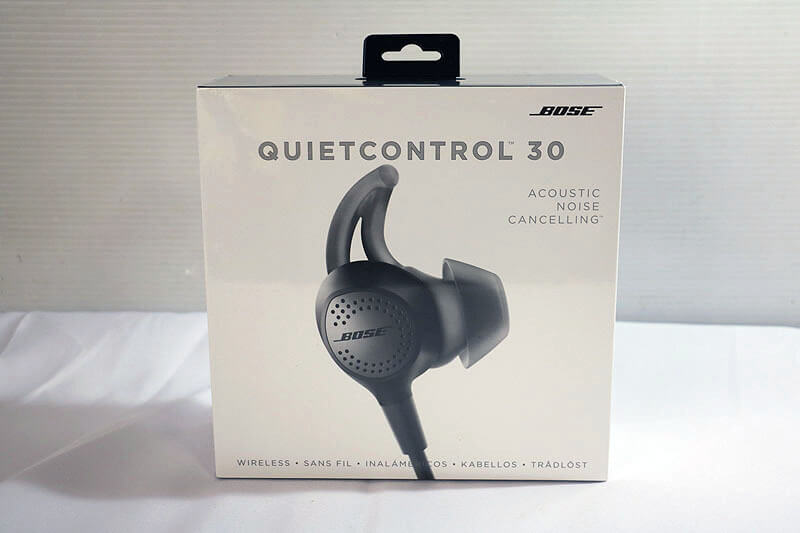 【買取実績】BOSE QuietControl 30 wireless headphones BLK|中古買取価格10,500円