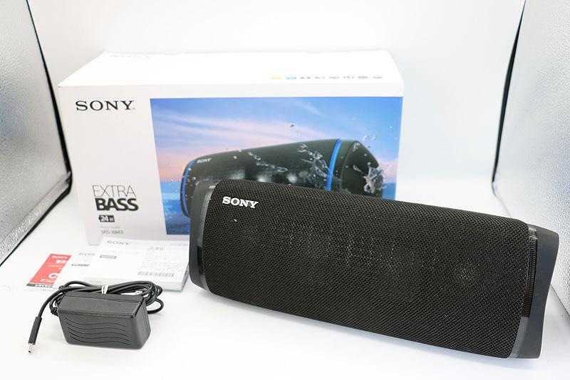【買取実績】SONY SRS-XB43 ワイヤレスポータブルスピーカー|中古買取価格10,000円