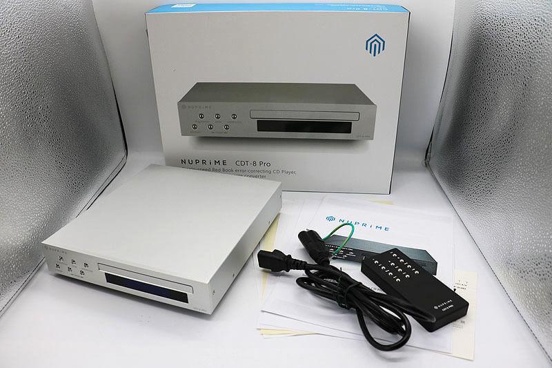 【買取実績】Nuprime CDT-8 PRO CDトランスポート|中古買取価格33,000円