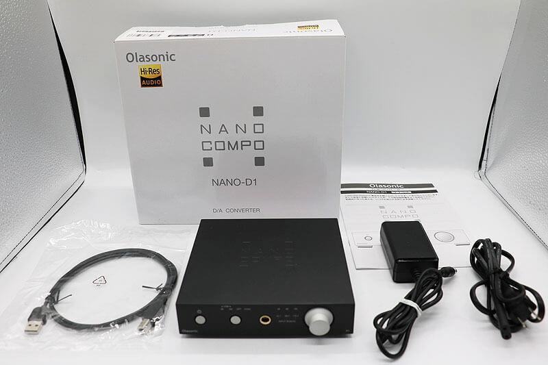 【買取実績】Olasonic NANO-D1 ヘッドホンアンプ|中古買取価格10,000円