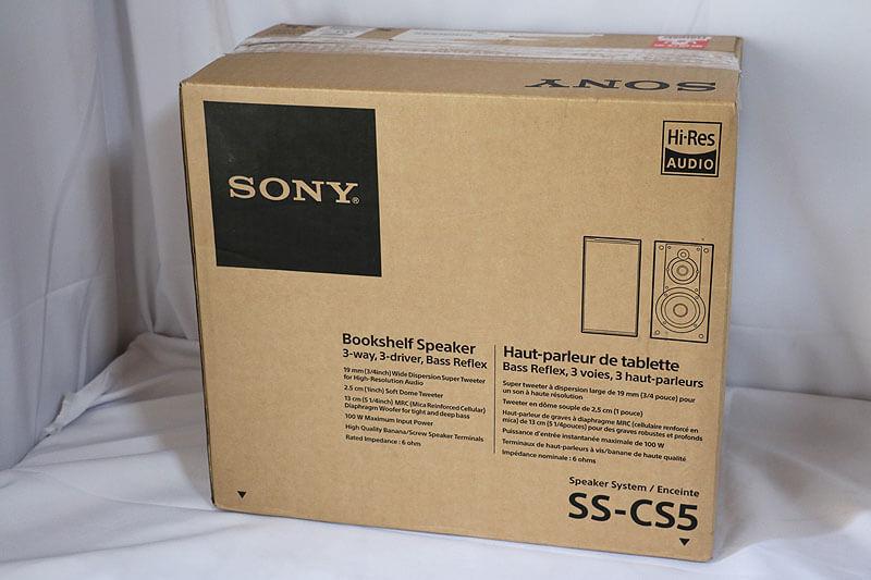 【買取実績】SONY スピーカーシステム SS-CS5 ペア|中古買取価格6,000円