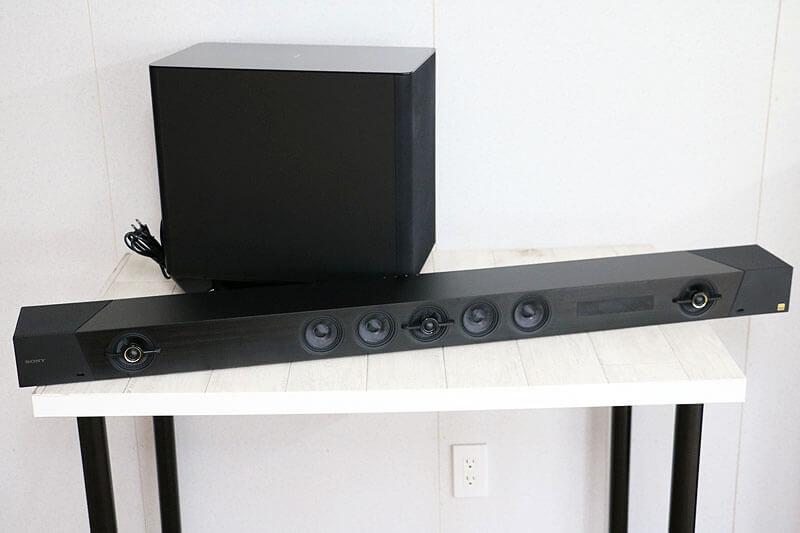 【買取実績】SONY HT-ST5000 SA-ST5000/SA-WST5000 サウンドバー ホームシアターシステム 2020年製|中古買取価格74,000円